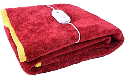 Cozyland Single Bed Electric Bed Warmer -Red