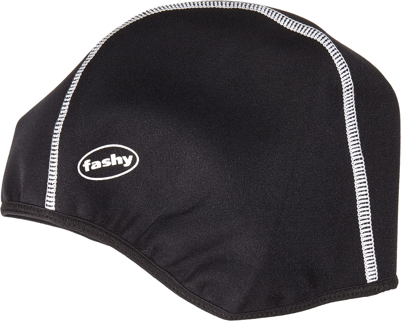 Fashy Thermo Neopren Badehaube Badekappe Kurze Form 20 schwarz