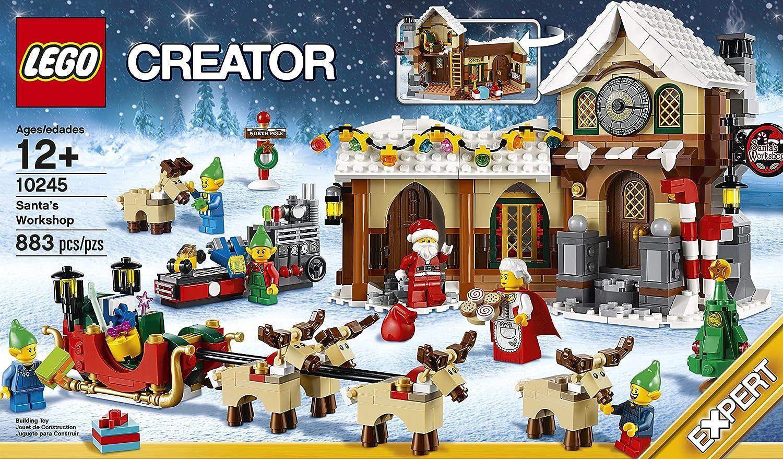Amazon.com: LEGO Creator Expert Santa\'s Workshop (10245): Toys & Games