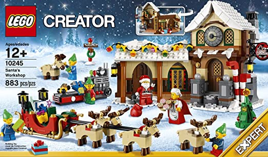Amazon.com: LEGO Creator Expert Santa's Workshop (10245): Toys & Games