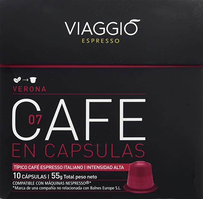 Viaggio Espresso Verona Café - 10 cápsulas