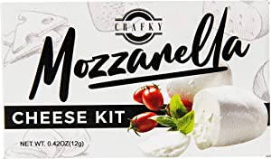 DIY Homemade Mozzarella Cheese Making Kit - Just Add Milk