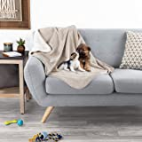 PETMAKER Waterproof Pet Blankets - Soft Plush Throw Protects Couch, Chairs, Car, or Bed from Spills, Stains, or Pet Fur…