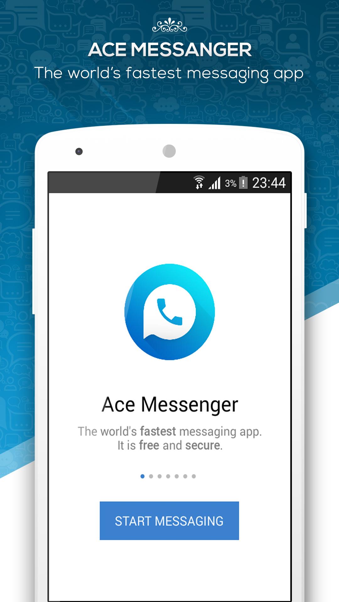 Amazon com: Ace Messenger – Fast Messaging App – Free Calls