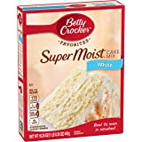 Betty Crocker Super Moist Cake Mix White 16.25 oz Box