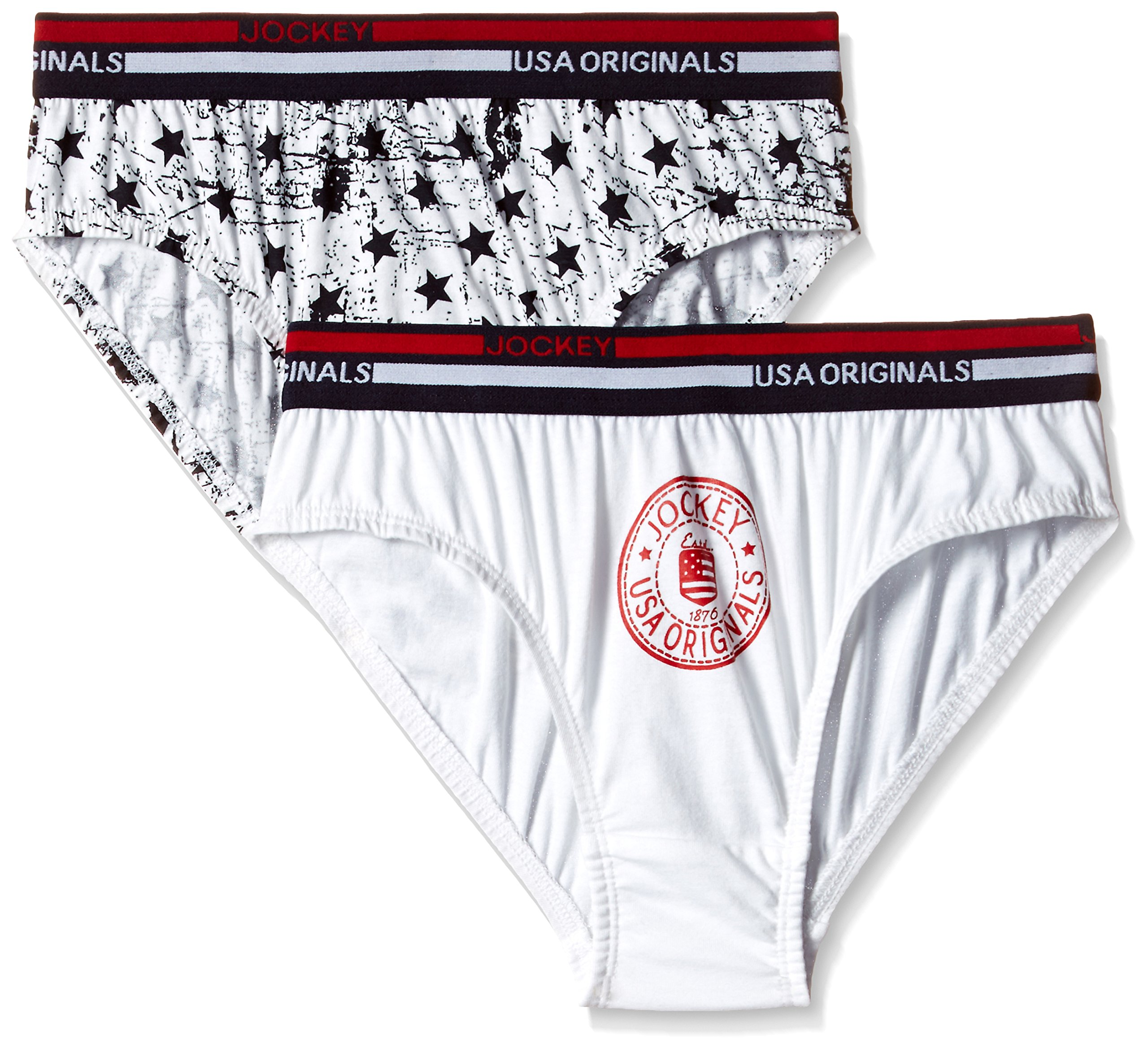 Jockey Boys' Cotton Brief (UB01-0204-ASSTD_10)