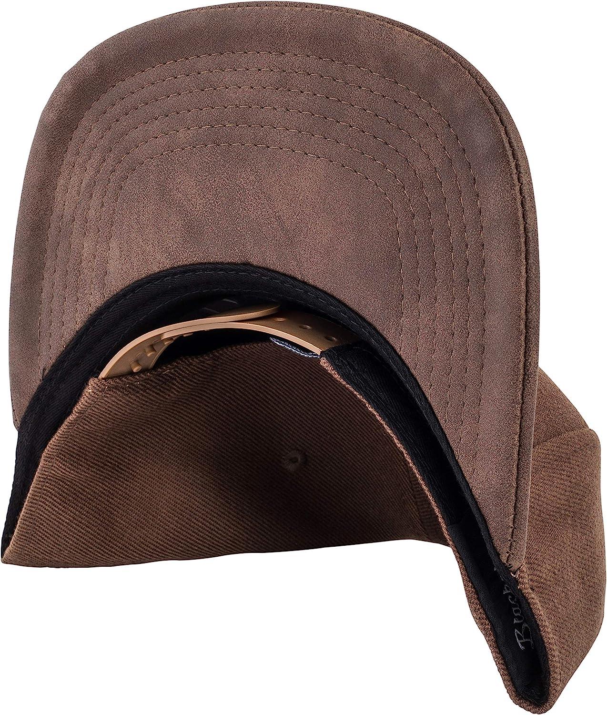 Men Women Premium Baseball Cap Dad 5-Panel Strapback Hip Hop Urban Leather Blackskies Vanguard Snapback Hat