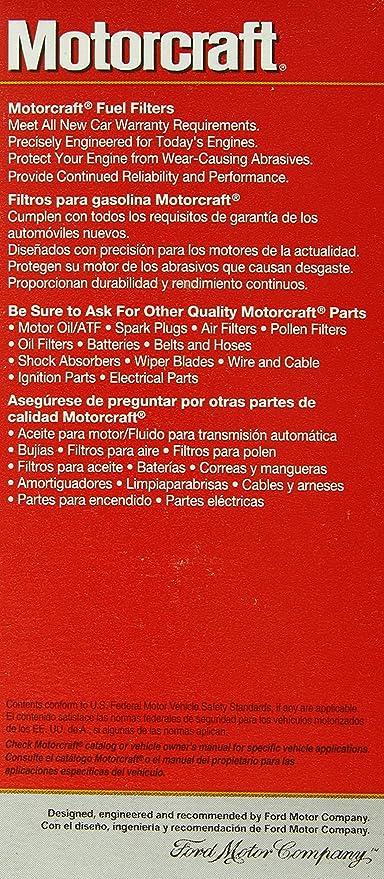 Motorcraft FG1039 Fuel Filter