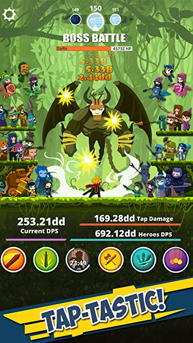 amazon com tap titans appstore for android