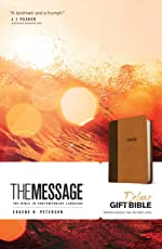 The Message Deluxe Gift Bible: The Bible in Contemporary Language
