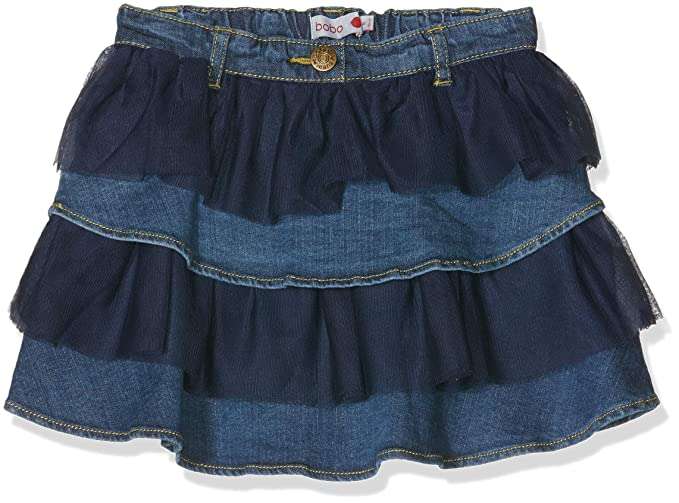 boboli Denim Ruffle Skirt For Girl d1dad54260f3