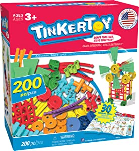 TINKERTOY 30 Model Super Building Set (Amazon Exclusive)
