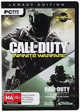 851f4e18945 Buy Call of Duty  Infinite Warfare - Legacy Edition (PC DVD) Online at Low  Prices in India