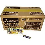 【ケース販売】三菱電機 アルカリ乾電池(シュリンクパック) 単4形 10個入 LR03N/10S×40個入り