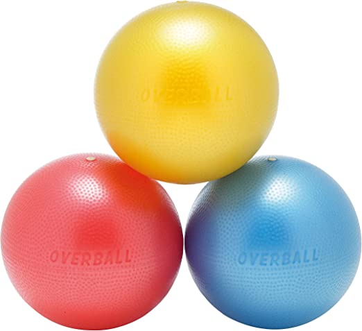 Overball - Pelota de gimnasia (25 cm), color azul: Amazon.es ...