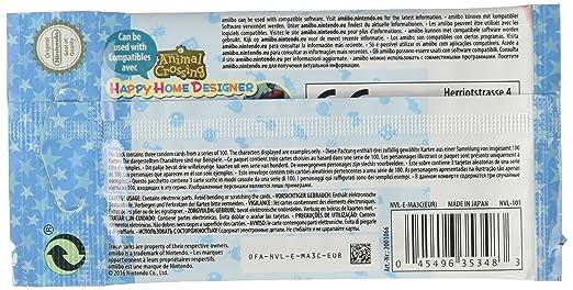 Nintendo - Pack De 3 Tarjetas amiibo Animal Crossing HHD ...