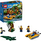 Lego City - Ensemble de démarrage de la Jungle - 60157 - Jeu de Construction