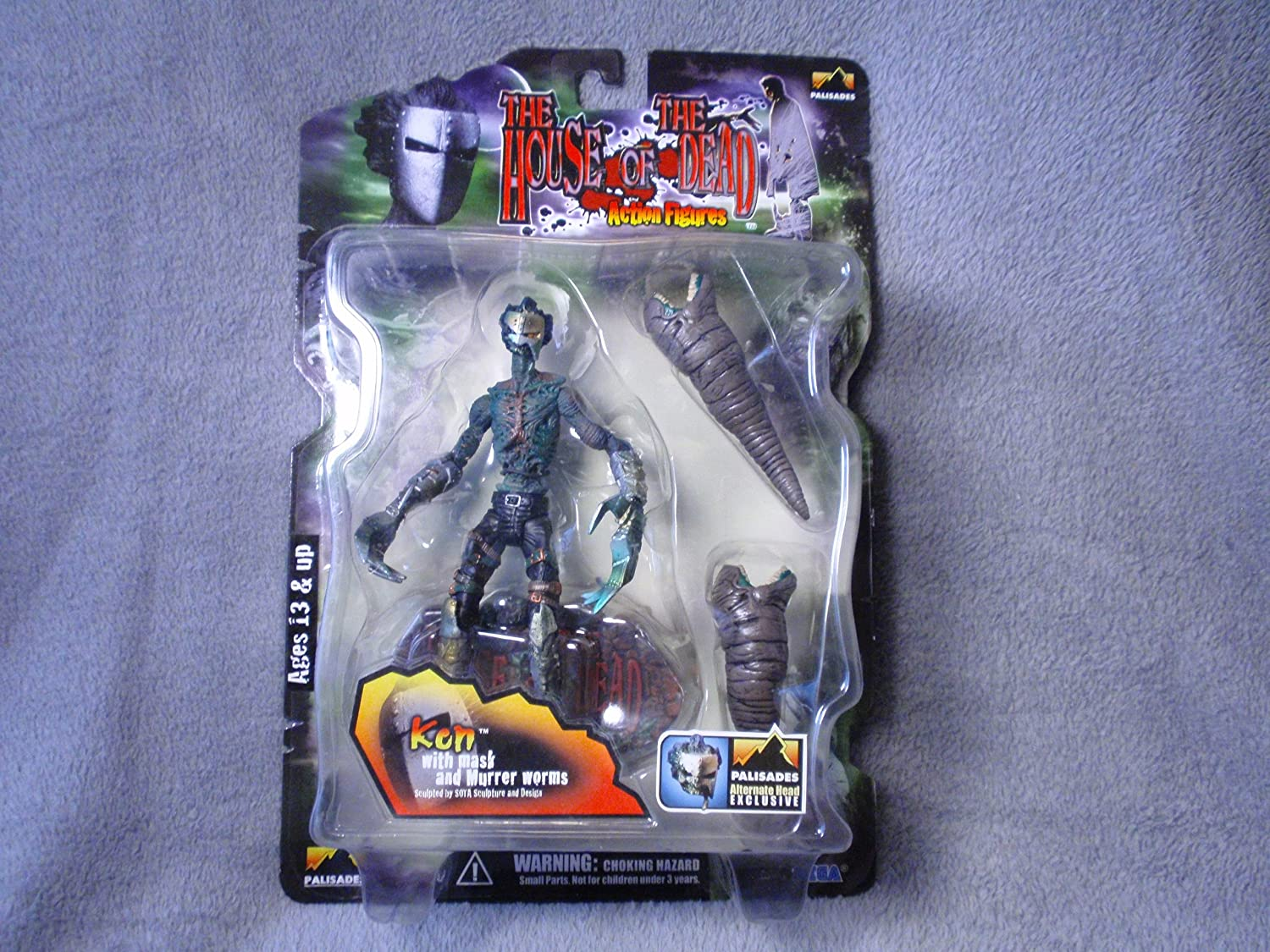 Sega The House Of Dead Ken With Mask And Murrer Worms Amazon De