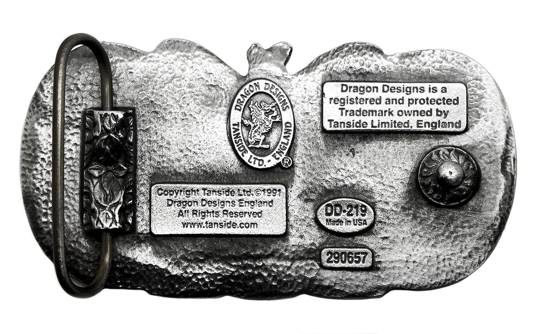 93fca602660b Celtique Paons Boucle de Ceinture - Authentique Dragon Designs Produit de  Marque DD 219