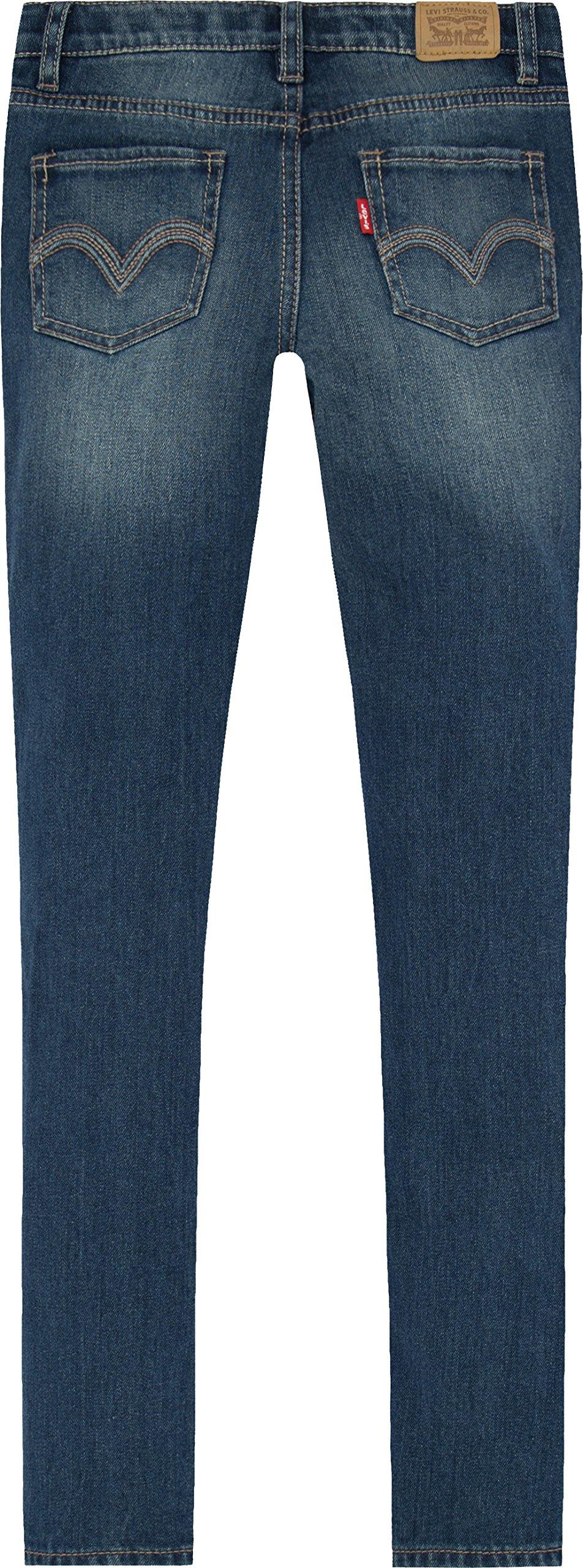 Levi's Girls' 711 Skinny Fit Jeans, Rockabilly, 16