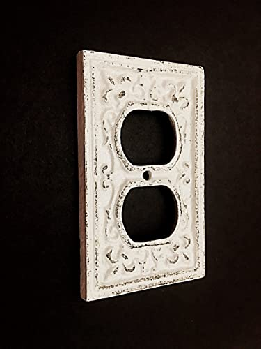 Amazoncom Cast Iron Decorative Electrical Outlet Plate Plug In