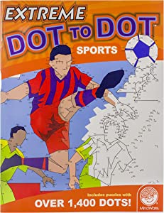 MindWare Extreme Dot to Dot Coloring: Sports
