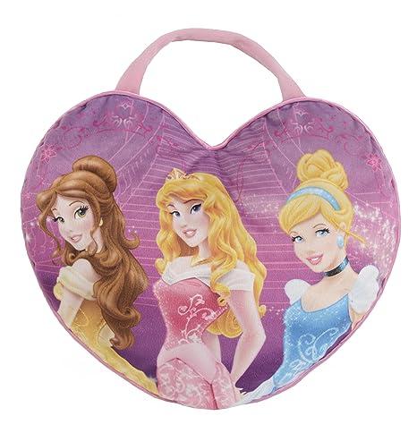 Disney - Cojín de peluche Princesas (HTI IL030): Amazon.es ...