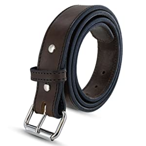 Hanks Extreme Leather Gun Belt for CCW