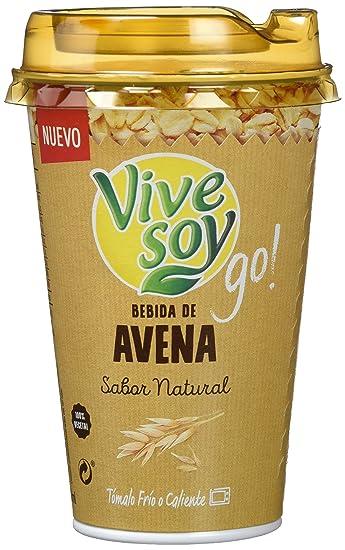 Vivesoy Bebida de Avena - Paquete de 10 x 200 ml - Total: 2000 ml