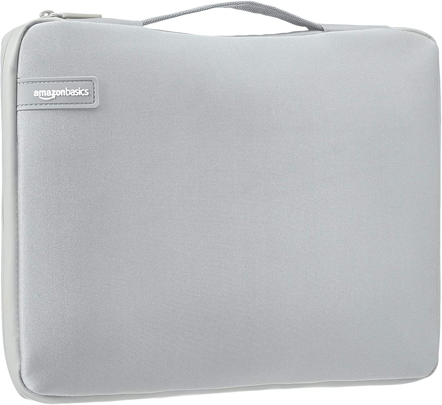 "AmazonBasics 13.3"" Professional Laptop Case Sleeve Bag (With Retractable Handle) - Grey"