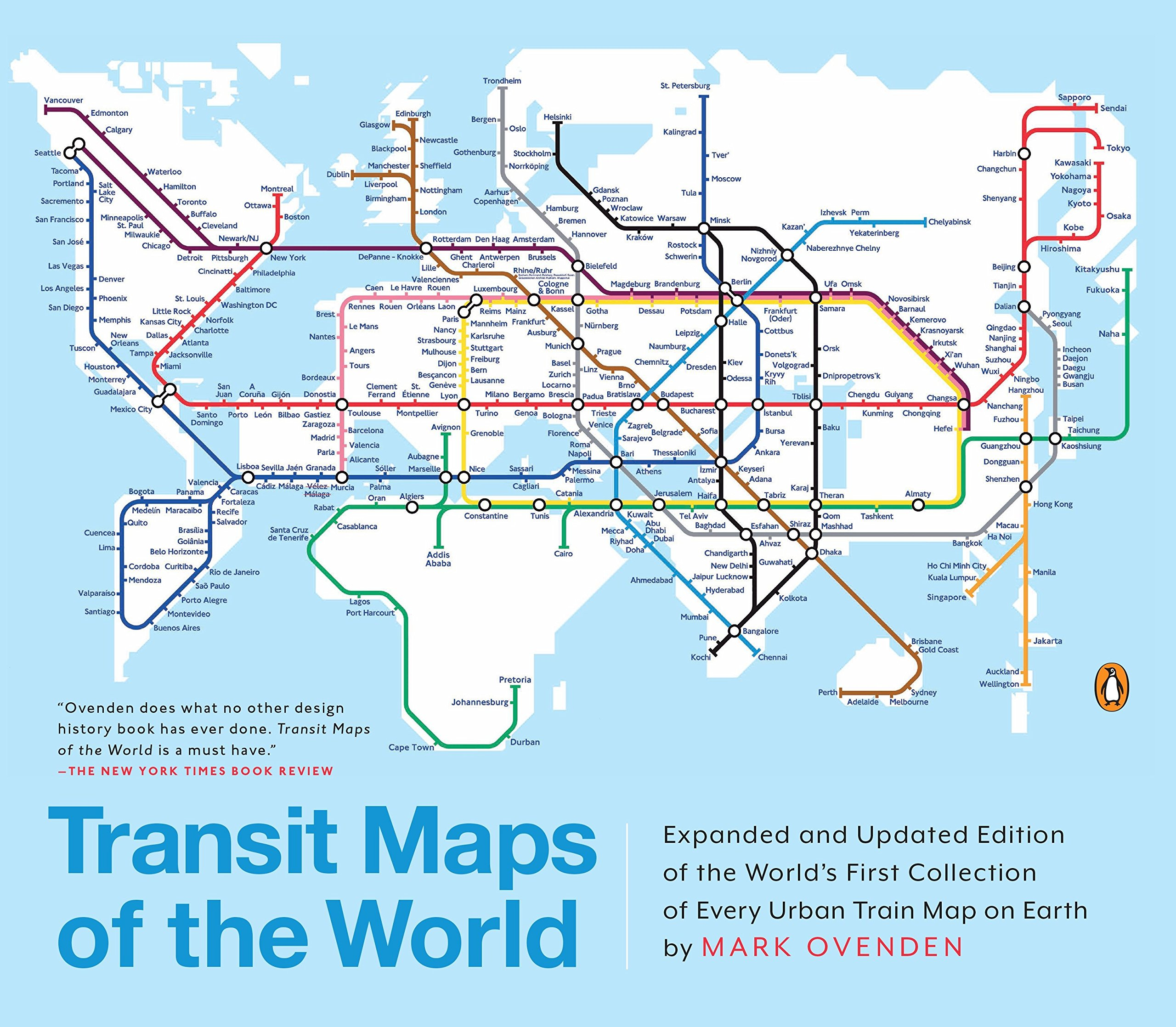 amazon transit maps of the world expanded and updated edition of