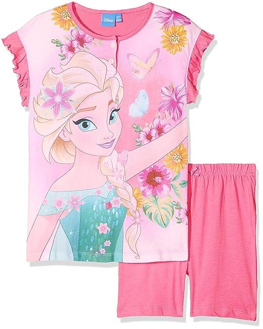 Disney 45343/10S/AZ, Pelele para Dormir para Niñas, Rosa (Azalea