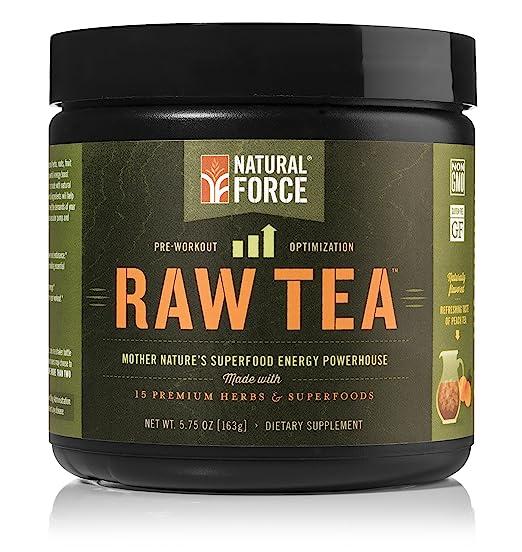 Natural Force Raw Tea Peach Flavor