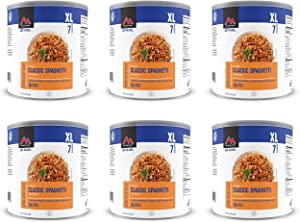 Mountain House Spaghetti with Meat Sauce #10 Can Freeze Dried Food - 6 Cans Per Case