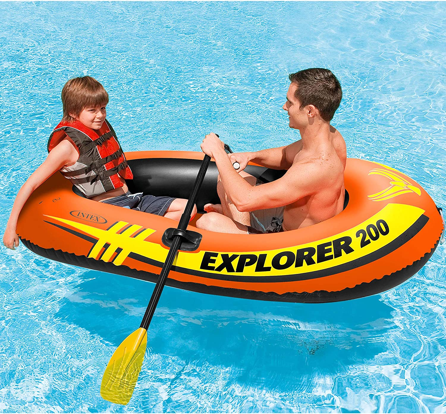 Amazon.com: Intex Explorer 200 - Barco hinchable para 2 ...