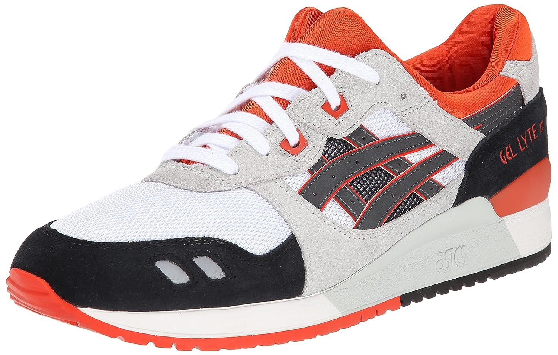 ASICS Men's GEL-Lyte III Retro Sneaker B00L8HB3SC 10.5 M US|White/Black