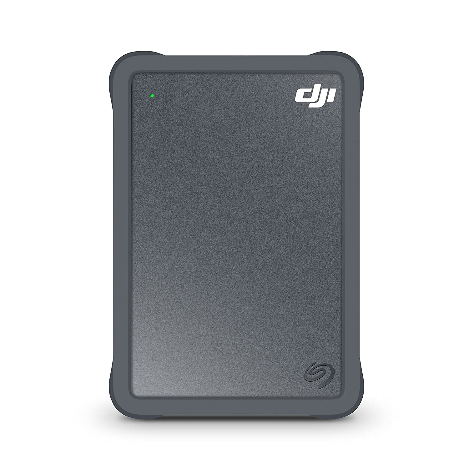 Seagate DJI Fly Drive for Drone Footage - Portable Drive with Micro SD Card Slot and USB-C to USB-C cable (STGH2000400)