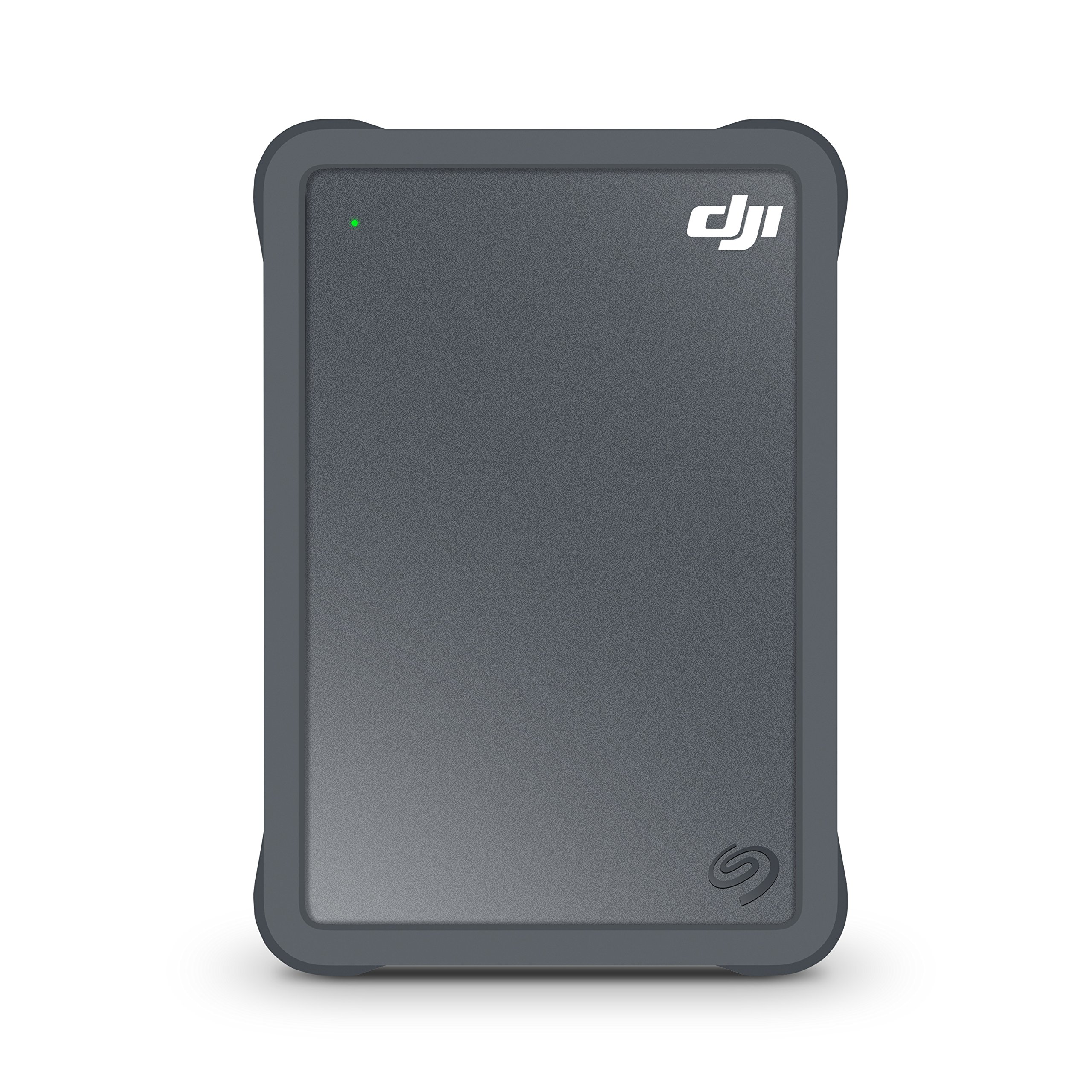 Seagate DJI Fly Drive for Laptops- Portable Drive with Protective Bumper, micro SD Card Slot, and USB-C to USB-C Cable + 2 mo Adobe Premier Pro CC (STGH2000400)