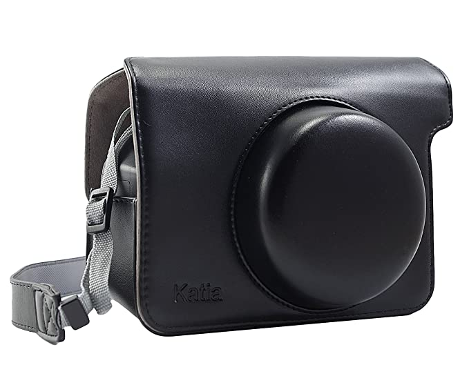 80e2a6e37777 Image Unavailable. Image not available for. Color  Katia PU Leather Camera  Case with Shoulder Strap for Fujifilm Instax Wide 300 Instant ...