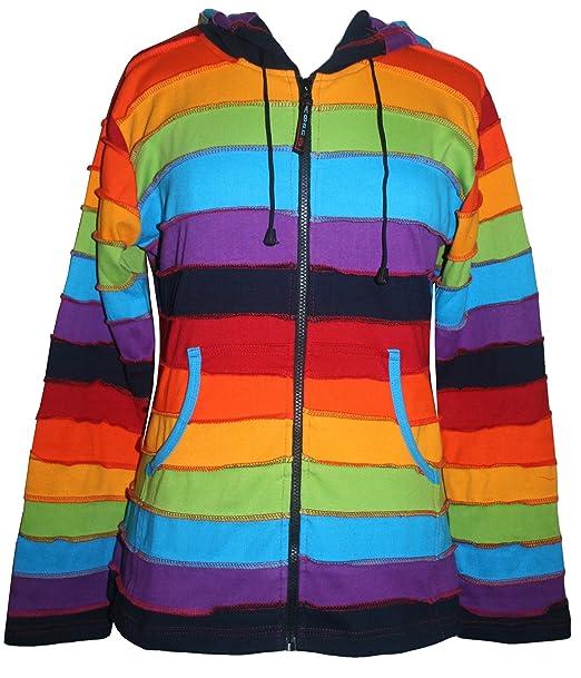 Amazon.com: RJ 342 Agan Traders Elfos de arco iris sudadera ...
