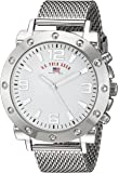 U.S. Polo Assn. Men's Analog-Quartz Watch with Alloy Strap, Silver, 22 (Model: US8815)