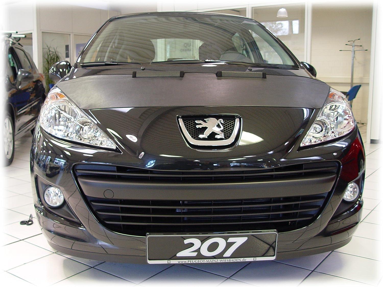 Hood Bra Front End Nose Mask For Peugeot 207 Since 2007 Bonnet Bra Protector Tuning Automotive
