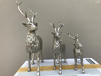 Merveilleux DayToDay Show Pieces For Home Decor   American Village Resin Crafts  Decoration   DEER 3 Nos