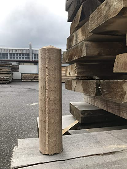 Calorfiamma - Briquetas de madera para estufas y chimeneas en paquete de 20 kg