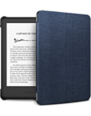 Infiland Case Cover for Kindle 2019 (built-in front light), Thinnest and Lightest Case Compatible with Amazon All-new Kindle 10th Generation 2019 Release(Auto Sleep/Wake Function),Navy