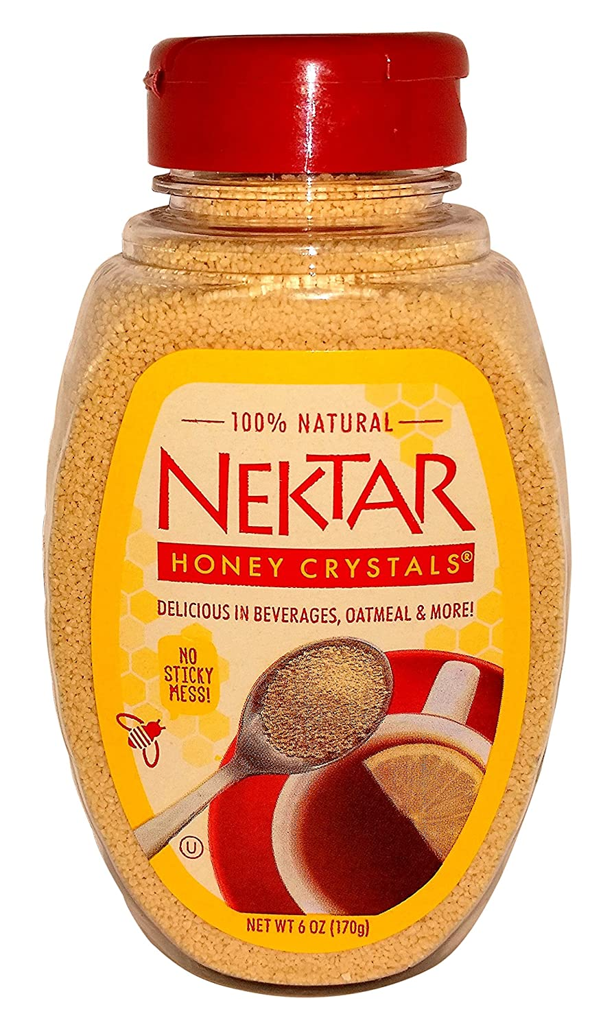 Nektar Miel cristales Easy Pour Botella: Amazon.com: Grocery ...