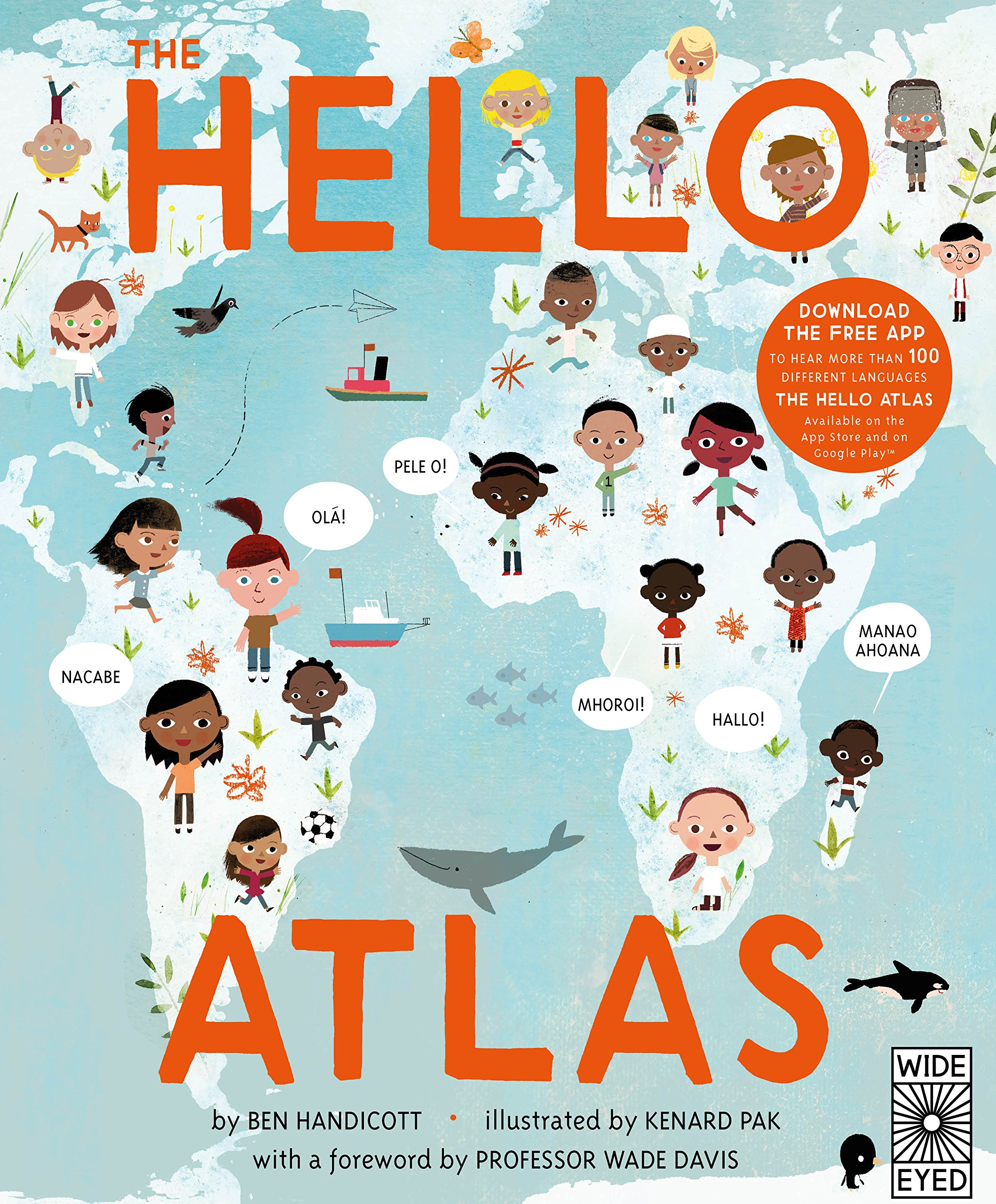 The Hello Atlas  Greetings From Around The Globe