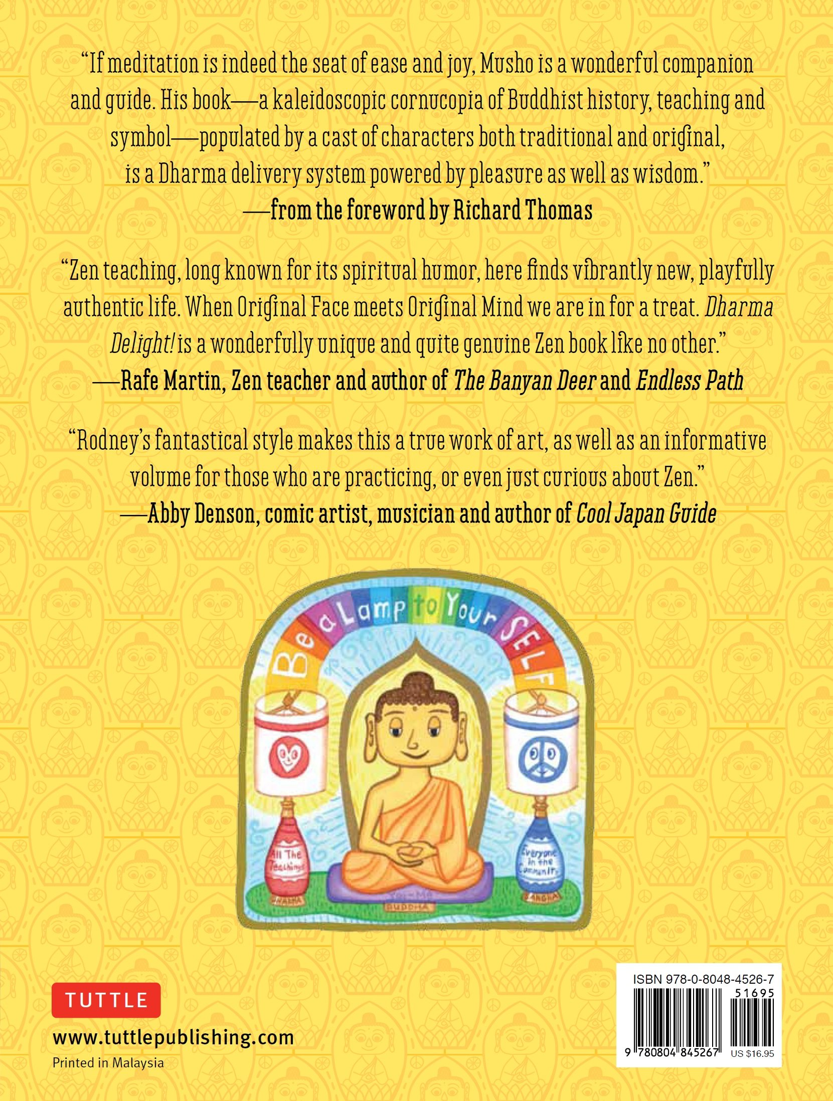 Amazon: Dharma Delight: A Visionary Post Popic Guide To Buddhism  And Zen (9780804845267): Rodney Alan Greenblat, Richard Thomas: Books