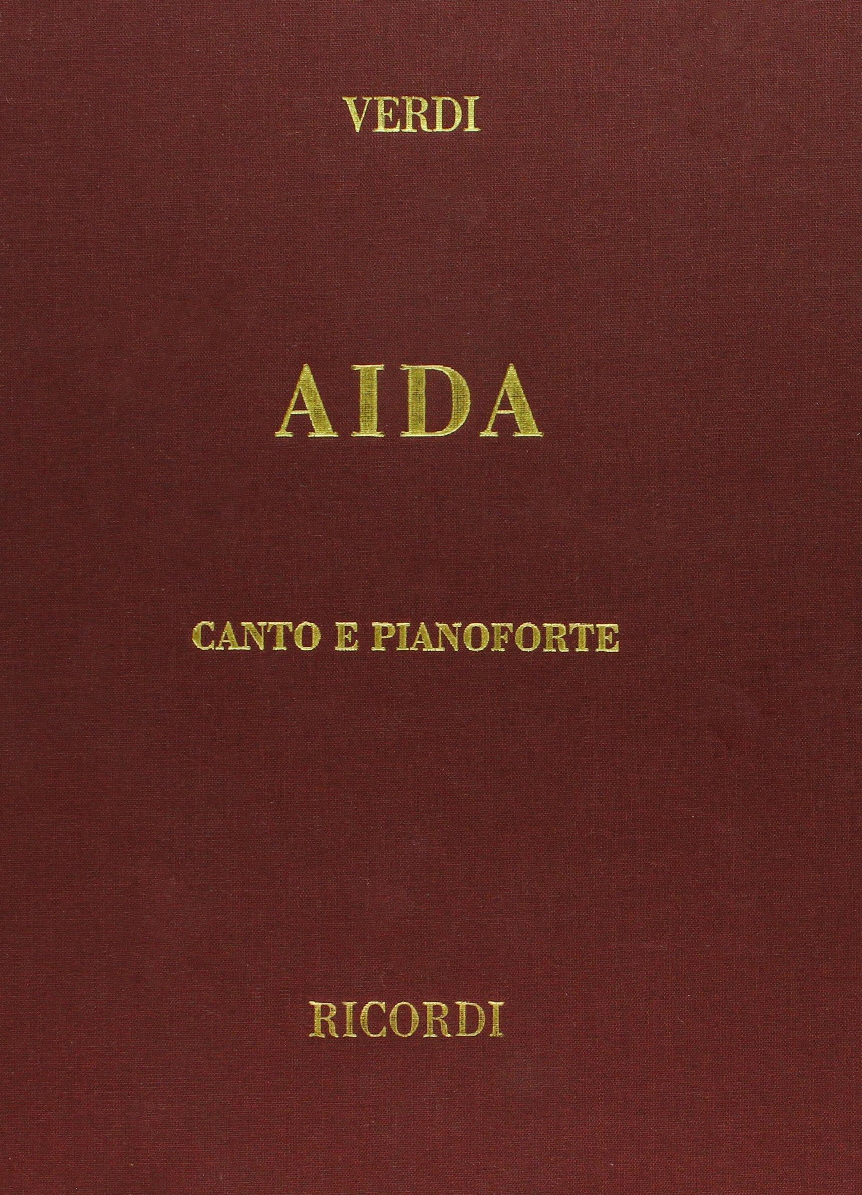 Aida: Vocal Score, Cloth, It