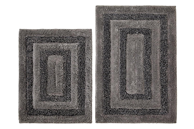 Shop Amazoncom Bath Rugs - Gray contour bath rug for bathroom decorating ideas